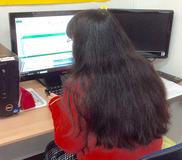 パソコン市民講座ライフ香里園教室授業風景