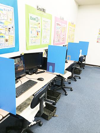 ライフ香里園教室内の風景