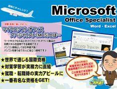 マイクロソフト・オフィススペシャリストの概要画像